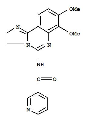 677338-12-4 3-Pyridinecarboxamide,N-(2,3-dihydro-7,8-dimethoxyimidazo[1,2-c]quinazolin-5-yl)-