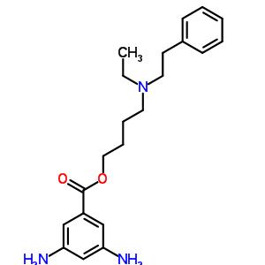 67293-22-5 4-[ethyl(2-phenylethyl)amino]butyl 3,5-diaminobenzoate