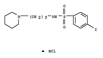 77283-52-4 Benzenesulfonamide,4-iodo-N-[3-(1-piperidinyl)propyl]-, hydrochloride (1:1)