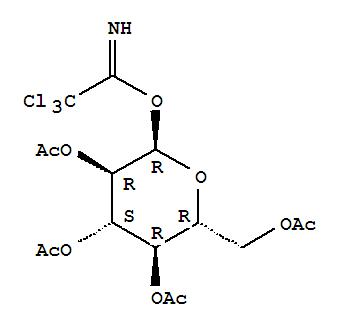 74808-10-9 a-D-Glucopyranose,2,3,4,6-tetraacetate 1-(2,2,2-trichloroethanimidate)
