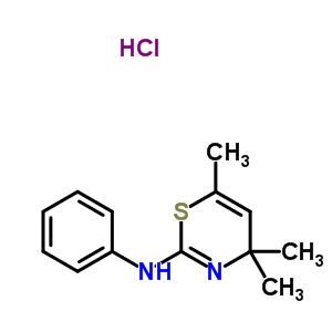 72549-90-7 4,4,6-trimethyl-N-phenyl-4H-1,3-thiazin-2-amine hydrochloride