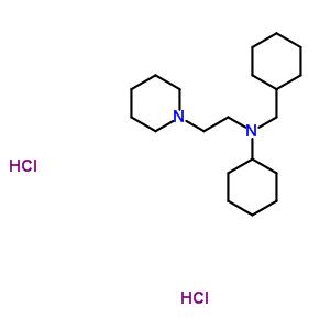 102071-06-7 N-(cyclohexylmethyl)-N-(2-piperidin-1-ylethyl)cyclohexanamine dihydrochloride