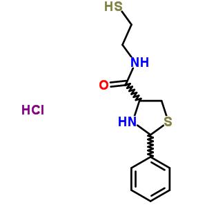 106086-25-3 2-phenyl-N-(2-sulfanylethyl)-1,3-thiazolidine-4-carboxamide hydrochloride