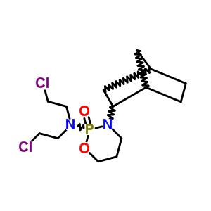 78220-05-0 3-bicyclo[2.2.1]hept-2-yl-N,N-bis(2-chloroethyl)-1,3,2-oxazaphosphinan-2-amine 2-oxide