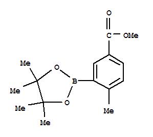 882679-40-5 Benzoicacid, 4-methyl-3-(4,4,5,5-tetramethyl-1,3,2-dioxaborolan-2-yl)-, methyl ester