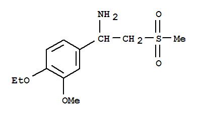 4-乙氧基-3-甲氧基-alpha-[(甲基磺酰基)甲基]苯甲胺 885268-06-4