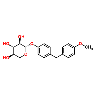 147029-86-5 4-(4-methoxybenzyl)phenyl beta-D-xylopyranoside
