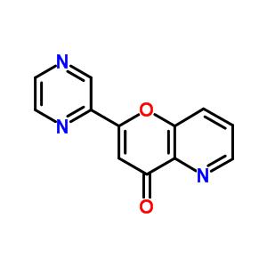 148190-33-4 2-pyrazin-2-yl-4H-pyrano[3,2-b]pyridin-4-one