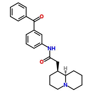 162937-54-4 2-[(1S,9aR)-octahydro-2H-quinolizin-1-yl]-N-[3-(phenylcarbonyl)phenyl]acetamide