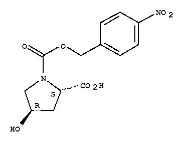 96034-57-0 1,2-Pyrrolidinedicarboxylicacid, 4-hydroxy-, 1-[(4-nitrophenyl)methyl] ester, (2S,4R)-