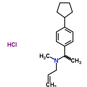 80649-48-5 N-[1-(4-cyclopentylphenyl)ethyl]-N-methylprop-2-en-1-amine hydrochloride