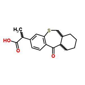 80772-14-1 2-(11-oxo-6,6a,7,8,9,10,10a,11-octahydrodibenzo[b,e]thiepin-3-yl)propanoic acid