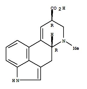 82-58-6 D-Lysergic acid hydrate