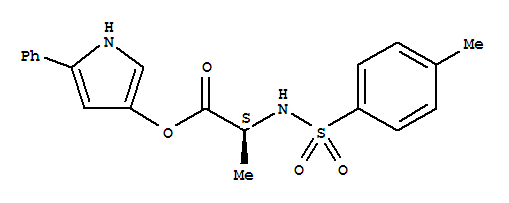 99740-00-8;221446-55-5 3-(N-Tosyl-L-alaninyloxy)-5-phenylpyrrole