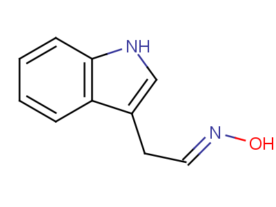 2776-06-9 (1E)-N-hydroxy-1-(3H-indol-3-ylidene)ethanamine