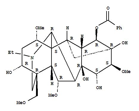 苯甲酰乌头原碱 466-24-0
