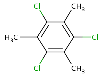 363-64-4;5324-68-5 1,3,5-trichloro-2,4,6-trimethylbenzene