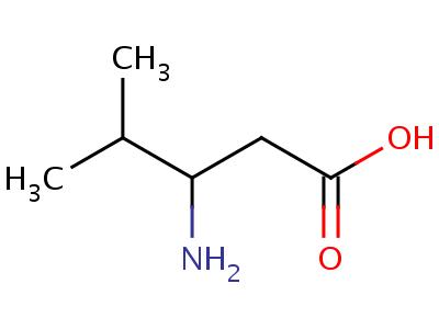 5699-54-7;75992-50-6 (3R)-3-Amino-4-methylpentanoic acid