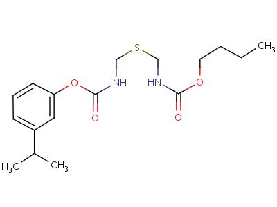 65907-48-4 butyl 3-(propan-2-yl)phenyl sulfanediylbis(methylcarbamate)