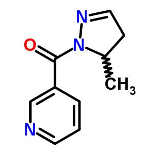 121306-58-9 3-[(5-methyl-4,5-dihydro-1H-pyrazol-1-yl)carbonyl]pyridine