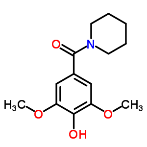 98795-78-9 2,6-dimethoxy-4-(piperidin-1-ylcarbonyl)phenol