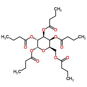 125161-50-4 1,2,3,4,6-penta-O-butanoyl-alpha-D-galactopyranose