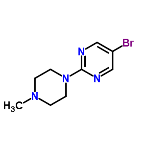141302-36-5 5-bromo-2-(4-methylpiperazin-1-yl)pyrimidine