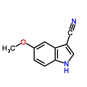 23084-36-8 5-methoxy-1H-indole-3-carbonitrile