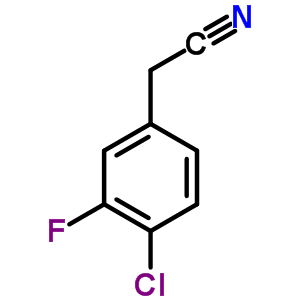 251570-03-3 (4-chloro-3-fluorophenyl)acetonitrile