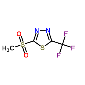 27603-25-4 2-(methylsulfonyl)-5-(trifluoromethyl)-1,3,4-thiadiazole