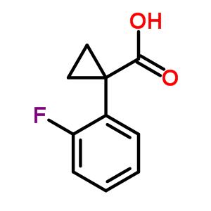 1-(2-fluorophenyl)cyclopropanecarboxylic acid 306298-00-0