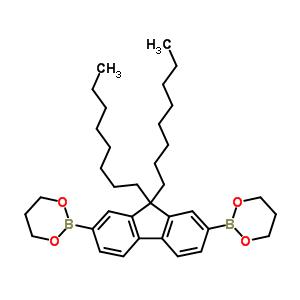 9,9-Dioctylfluorene-2,7-diboronic acid bis(1,3-propanediol) ester 317802-08-7