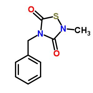 4-BENZYL-2-METHYL-1,2,4-THIADIAZOLIDINE-3,5-DIONE 327036-89-5
