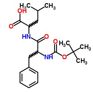 33014-68-5 N-(tert-Butoxycarbonyl)phenylalanylleucine