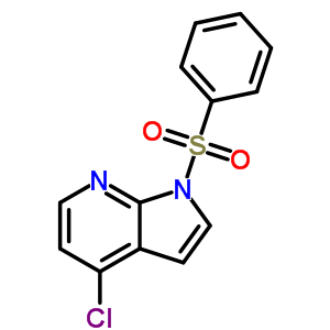 4-氯-1-苯磺酰基-1H-吡咯并[2,3-B]吡啶 348640-05-1;744209-63-0
