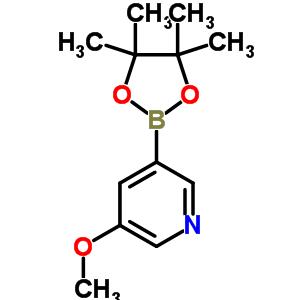 445264-60-8 3-methoxy-5-(4,4,5,5-tetramethyl-1,3,2-dioxaborolan-2-yl)pyridine