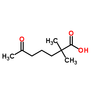 461-11-0 2,2-dimethyl-6-oxoheptanoic acid
