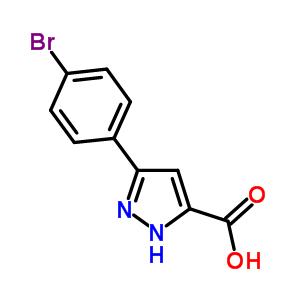 46413-66-5;890591-20-5 3-(4-bromophenyl)-1H-pyrazole-5-carboxylic acid