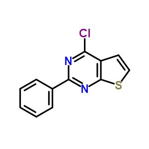 56843-80-2 4-chloro-2-phenylthieno[2,3-d]pyrimidine