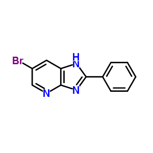 65147-89-9 6-bromo-2-phenyl-1H-imidazo[4,5-b]pyridine