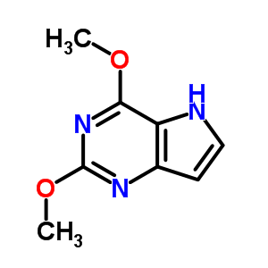 10024-19-8 2,4-dimethoxy-5H-pyrrolo[3,2-d]pyrimidine