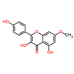 20243-59-8;569-92-6 3,5-dihydroxy-2-(4-hydroxyphenyl)-7-methoxy-4H-chromen-4-one