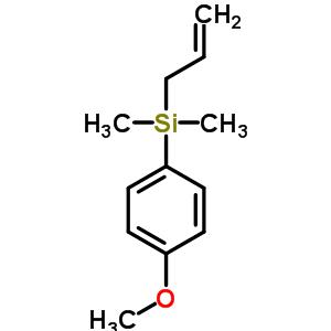 烯丙基(4-甲氧基苯基)二甲基硅烷 68469-60-3