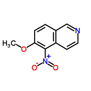 72677-92-0 6-methoxy-5-nitroisoquinoline