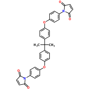 2,2′-双[4-(4-马来酰亚胺基苯氧基)苯基]丙烷 79922-55-7