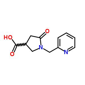 845546-25-0 5-oxo-1-(pyridin-2-ylmethyl)pyrrolidine-3-carboxylic acid