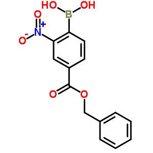 850568-58-0 {4-[(benzyloxy)carbonyl]-2-nitrophenyl}boronic acid