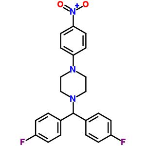 851472-82-7 1-[bis(4-fluorophenyl)methyl]-4-(4-nitrophenyl)piperazine