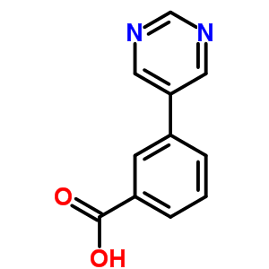 852180-74-6 3-pyrimidin-5-ylbenzoic acid