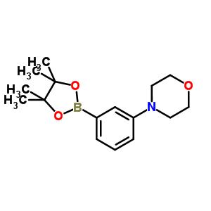 852227-95-3 4-[3-(4,4,5,5-tetramethyl-1,3,2-dioxaborolan-2-yl)phenyl]morpholine